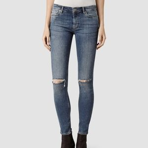 All Saints skinny jeans